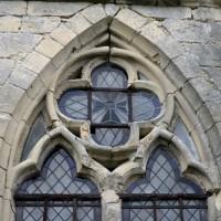 Vue partielle de la fenêtre sud du choeur (2015)