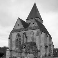 L'église vue du nord-est.