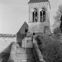 L'église vue de l'ouest (1974)