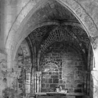 La chapelle nord vue vers l'ouest.