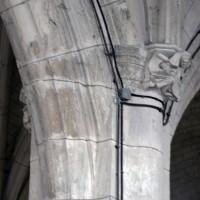 Retombée de voûtes au bas-côté sud de la nef (2017)