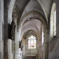 La chapelle sud du choeur vue vers l'est (2017)