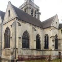 Vue partielle de l'église depuis le nord-est (2015)