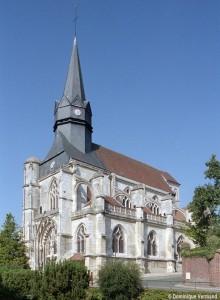 La nef vue du sud-est (2008)