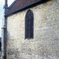 Vue partielle de la nef depuis le sud-est (1973)