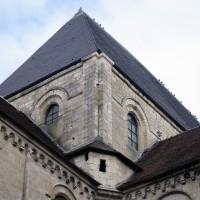 La tour lanterne de la croisée du transept vue depuis le sud-ouest (2015)