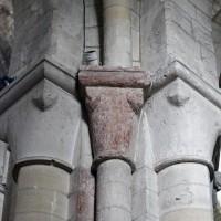 Chapiteaux de la dernière travée du bas-côté sud de la nef (2015)