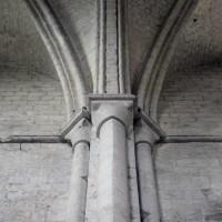 Retombées de la voûte du transept sur le côté ouest (2015)