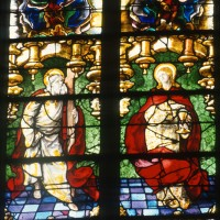 Vitrail de saint André et saint Jean (1997)