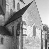 Le bras sud du transept vu du sud-ouest (1996)