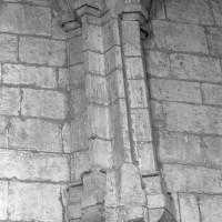 Retombée des voûtes gothique tardif de la chapelle de l'Abbé (1997)