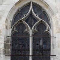 Fenêtre du bas-côté sud-est de la nef (2016)