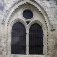 La fenêtre du mur de chevet du choeur (2016)