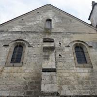 La façade de la chapelle nord-ouest (2016)