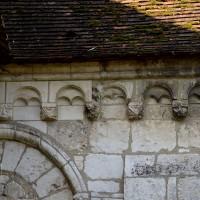 La corniche beauvaisine du mur est du bras nord du transept (2016)