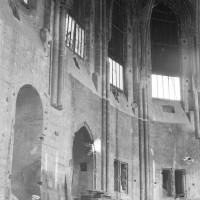 Vue partielle de l'abside vers le nord-est (1974)