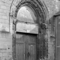 Le portail de la façade ouest (1974)