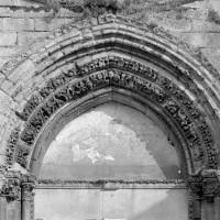 Le tympan du portail de la façade ouest (1974)