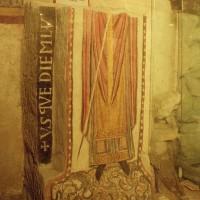 Fresque de la fin du 10ème siècle dans la crypte (2002)