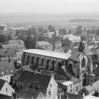 La chapelle vue du nord-ouest depuis les parties hautes de la cathédrale (1970)