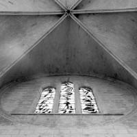 Les parties hautes du revers de la façade ouest (1980)