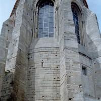 L'abside vue de l'est (2002)