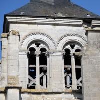 L'étage du beffroi du clocher vu de l'est (2015)