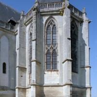 L'abside vue du sud-est (2015)