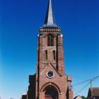 L'église vue de l'ouest (2003)