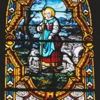 Vitrail de sainte Jeanne d'Arc (2003)