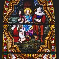 Vitrail de saint Louis (2003)