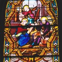 Vitrail de la sainte Famille (2003)