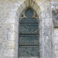 Fenêtre du mur nord de la nef (2015)