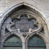 Détail d'une fenêtre du chevet