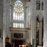 Vue partielle du transept vers le nord (2015)
