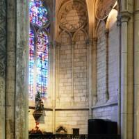 Une chapelle rayonnante du déambulatoire (2015)