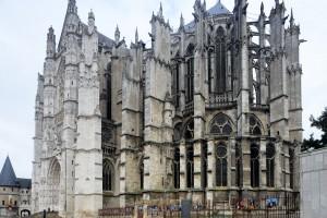 La cathédrale vue du sud-est (2015)