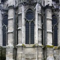La chapelle axiale vue de l'est (2015)
