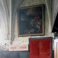 Vue partielle de la sacristie (1997)