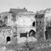 Vue d'ensemble du palais vers l'ouest (1980)