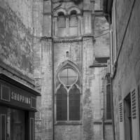 Les vestiges du clocher vus du nord (1991)