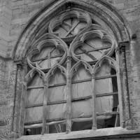 La fenêtre du bras nord du transept (1991)