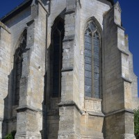 L'abside vue du sud-est (2016)