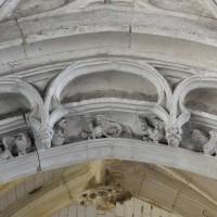 Détail de l'arcade d'entrée de la chapelle de la Vierge (2016)