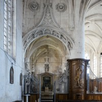 L'entrée de la chapelle de la Vierge vue vers l'est (2016)