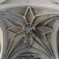 La voûte de la croisée du transept (2016)