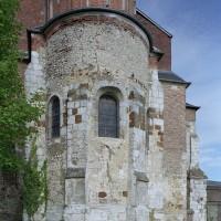 L'abside vue de l'est (2003)