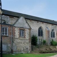 Vue partielle de l'église depuis le nord-est (2003)