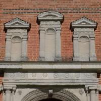 La partie supérieure du portail ouest (2016)