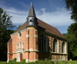 La chapelle vue du sud-ouest (2016)
